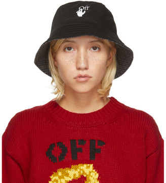 Off-White Reversible Black Bucket Hat