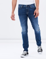 DC Mens Destroy Slim Jean - Medium Stone