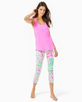 "Lilly Pulitzer UPF 50+ Luxletic 21"" Weekender High Rise Crop Legging"