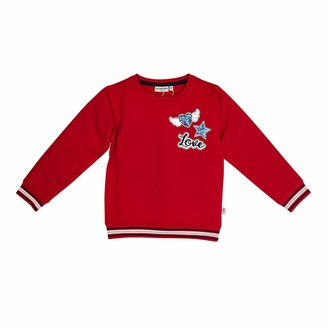 Salt&Pepper Salt and Pepper Girls' Sweat Sparkle uni Stick Sweatshirt