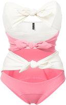 Lisa Marie Fernandez knotted swimsuit - women - Nylon/Spandex/Elastane - I