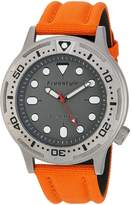 Freestyle Men's 10024400 Ballistic Diver Analog Display Japanese Quartz Orange Watch