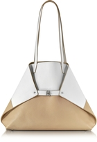 Akris Ai Medium Reversible Leather Tote bag