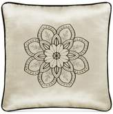 "J Queen New York Mirabella 18"" x 18"" Embroidered Decorative Pillow"