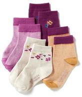 Old Navy Crew Socks 4-Pack for Toddler & Baby