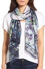 womens ted baker london esmai enchantment floral silk scarf