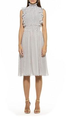 Alexia Admor Joanna Ruffled Dress