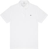 J. Lindeberg Rubi 2.0 White Pique Polo Shirt