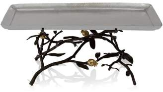 Michael Aram Pomegranate Footed Centerpiece Tray, Large