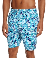 Vineyard Vines Gamefish Mosaic Bungalow Swim Trunks