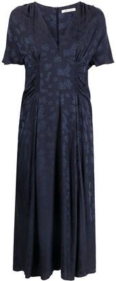 Masscob Floral-Jacquard Dress