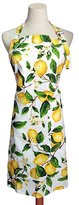 G2PLUS Adjustable Women's Kitchen Apron Cotton Cooking Baking Garden Chef Apron with Pocket Great Gift for Wife Ladies Lovely Lemon Tree Floral (Lemon)