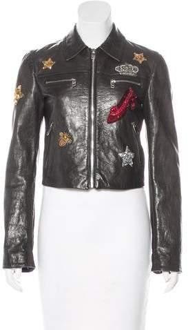 Dolce & Gabbana 2016 Leather Jacket
