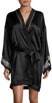 Calvin Klein Silk Kimono Robe