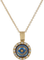 Ileana Makri Women's Diamond & Gold Iridescent Eye Pendant Necklace