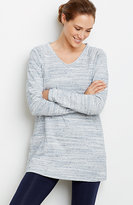J. Jill Pure Jill Heathered Cotton Tunic