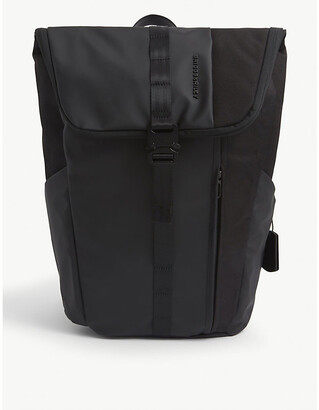 Briggs & Riley Delve large fold-over woven backpack