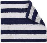 Izod 24-Inch x 17-Inch Reversible Striped Bath Rug
