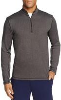 Greyson Tate Herringbone Half-Zip Lightweight Sweater