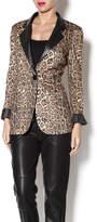 Cecico Leopard Blazer
