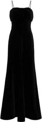 The Vampire's Wife velvet bow long dress