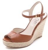 KORS Valora Wedge Sandals