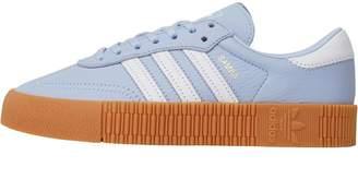 adidas Womens Sambarose Trainers Periwinkle/Footwear White/Gum 2