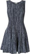 Fendi flared knit dress - women - Polyester/Viscose - 40