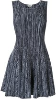 Fendi flared knit dress