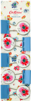 Cath Kidston Mallory Bunch Set of 5 Binder Clips