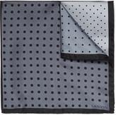 Lanvin - Polka-dot Silk-twill Pocket Square