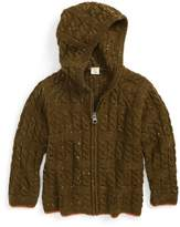 Tucker + Tate Infant Boy's Cable Knit Hoodie Sweater
