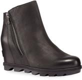 Sorel Joan of Arctic Wedge II Waterproof Leather Zip Boots