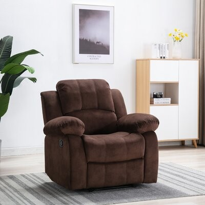 Red Barrel Studio Manual Recliner With Massage Shopstyle Living Room Chairs