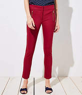 LOFT Skinny Zip Pocket Pants in Julie Fit