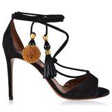 Dolce & Gabbana Pom Pom Heeled Sandals