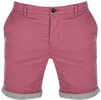 Pretty Green Mens City Shorts Pink