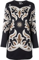 Fausto Puglisi stud detail sweater dress