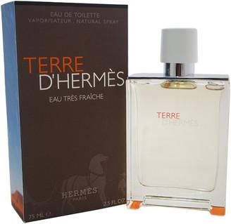 Hermes Men's Terre D'eau Tres Fraiche 2.5Oz Eau De Toilette Spray