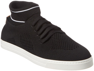 Fendi Knitted Low-Top Trainer