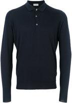 John Smedley Belper knitted polo shirt - men - Merino - M