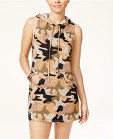 Material Girl Juniors' Hoodie Dress, Created for Macy's