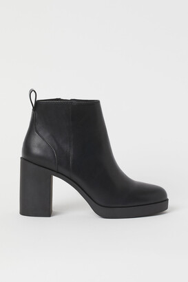 H&M Block-heeled ankle boots