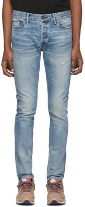 John Elliott Blue The Cast 2 Jeans
