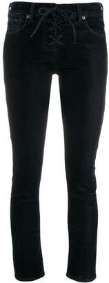 Levi's Made & Crafted cropped skinny jeans