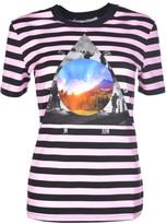 "Givenchy Stripe ""Full Moon"" T-Shirt"