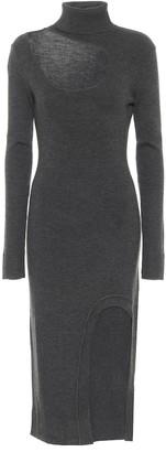 Monse Wool midi dress