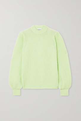 Ganni Knitted Sweater - Light green