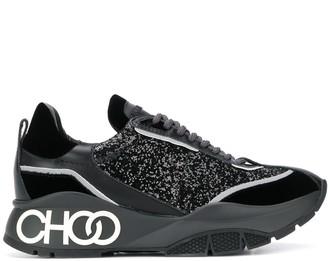Jimmy Choo Raine galactica glitter sneakers