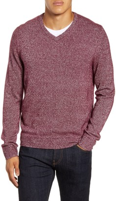 Nordstrom Cashmere & Silk V-Neck Sweater